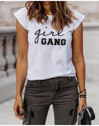Tričko - kód 918 - biela