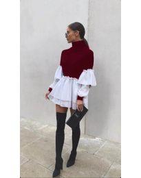 Šaty - kód 1188 - bordeaux