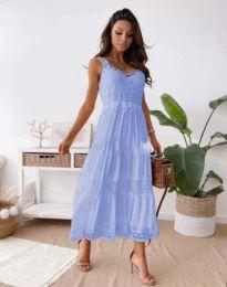 Šaty - kód 4672 - svetlo modrá