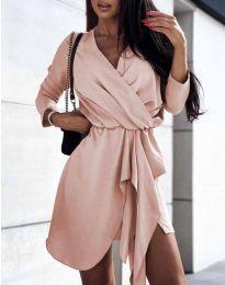 Šaty - kód 2879 - ružová
