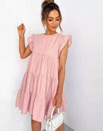 Šaty - kód 2666 - ružová