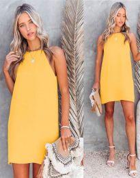 Šaty - kód 2169 - žltá