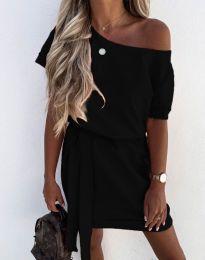 Šaty - kód 6737 - čierná