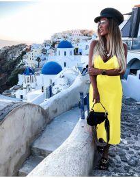 Šaty - kód 0005 - žltá
