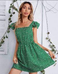 Šaty - kód 6525 - zelená