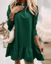 Šaty - kód 9376 - zelená
