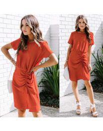 Šaty - kód 835 - červená