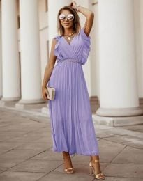 Šaty - kód 3320 - fialová