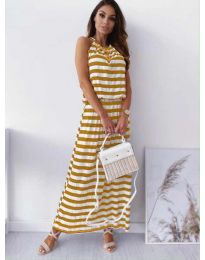 Šaty - kód 1515 - žltá