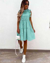 Šaty - kód 2663 - mentolová