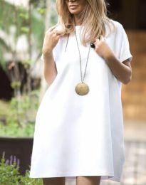 Šaty - kód 6332 - 3 - biela