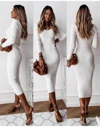 Šaty - kód 928 - biela