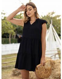 Šaty - kód 696 - čierná