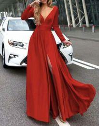 Šaty - kód 3428 - červená