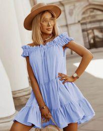 Šaty - kód 6969 - svetlo modrá