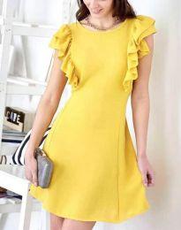 Šaty - kód 7111 - žltá