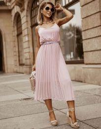 Šaty - kód 1249 - ružová