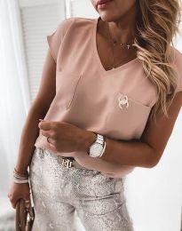 Tričko - kód 6306 - 5 - ružová