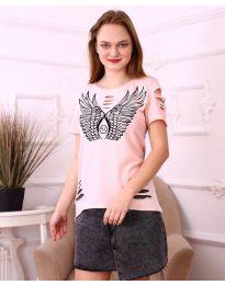Tričko - kód 3567 - ružová