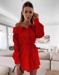 Šaty - kód 1457 - červená