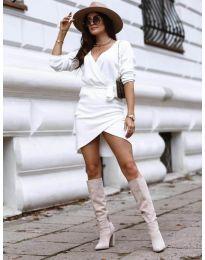 Šaty - kód 395 - biela