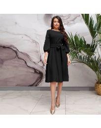 Šaty - kód 4571 - čierná