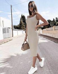 Šaty - kód 5964 - šampanské