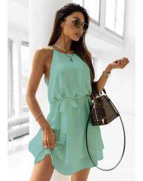 Šaty - kód 9968 - mentolová