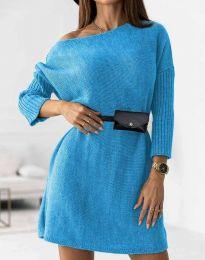 Šaty - kód 5142 - svetlo modrá