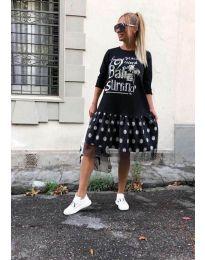 Šaty - kód 5467 - čierná