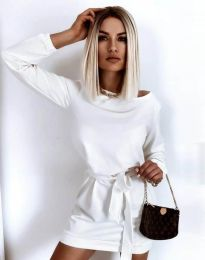 Šaty - kód 12038 - biela
