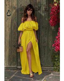 Šaty - kód 3336 - žltá