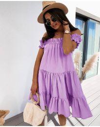 Šaty - kód 805 - fialová