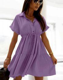 Šaty - kód 6292 - fialová
