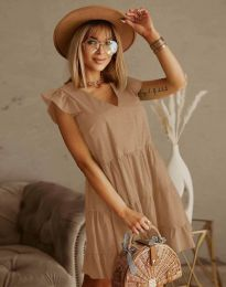 Šaty - kód 6224 - bežová