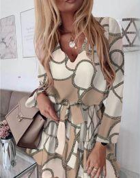Šaty - kód 566 - biela