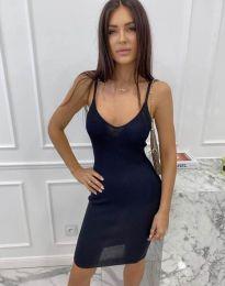 Šaty - kód 4476 - tmavomodrá