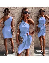 Šaty - kód 2457 - modrý
