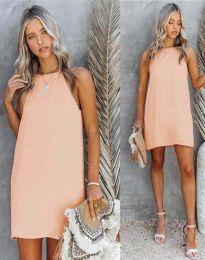 Šaty - kód 2169 - broskvová
