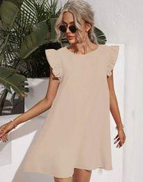 Šaty - kód 6261 - bežová