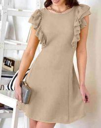 Šaty - kód 7111 - bežová