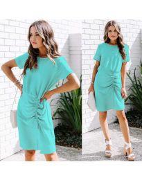 Šaty - kód 835 - mentolová
