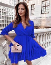 Šaty - kód 0545 - modrá