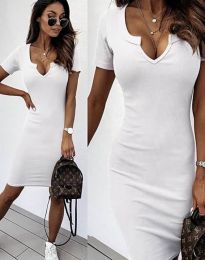 Šaty - kód 2202 - biela