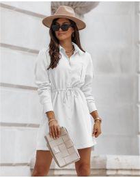 Šaty - kód 132 - biela