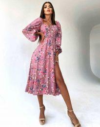 Šaty - kód 1752 - viacfarebné