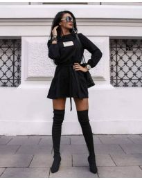 Šaty - kód 0789 - 1 - čierná