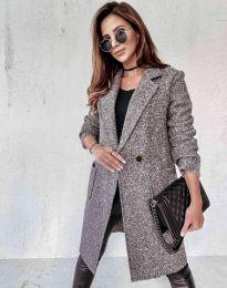 Kabát - kód 0964 - šedá