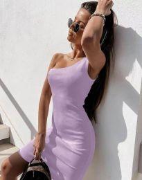 Šaty - kód 6412 - svetlo fialová
