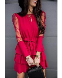 Šaty - kód 8384 - bordeaux